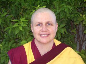 Buddhist nun and meditation teacher Kelsang Norjin