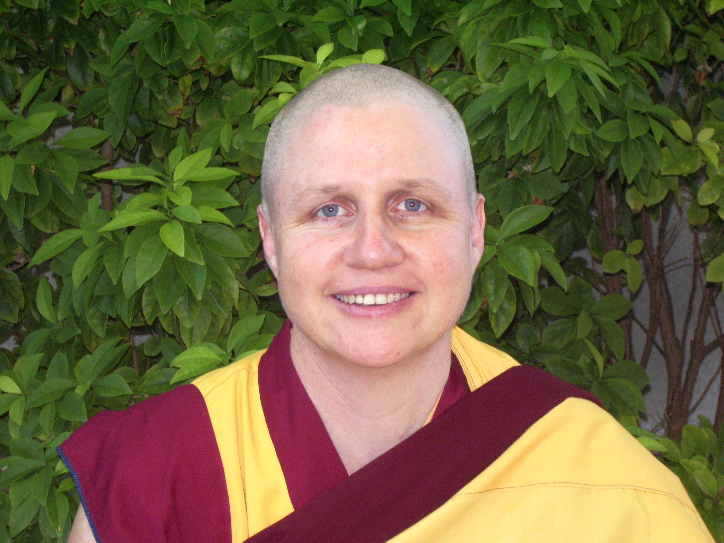 Buddhist nun and meditation teacher Kelsang Norjin