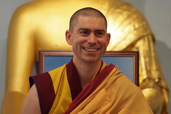 Buddhist monk and Teacher Gen Kelsang Rabten