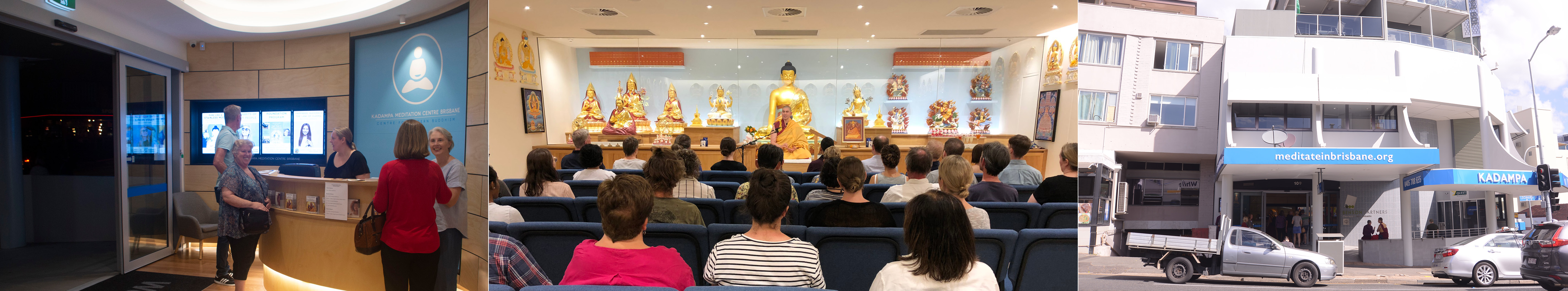 Inside Kadampa Meditation Centre Brisbane