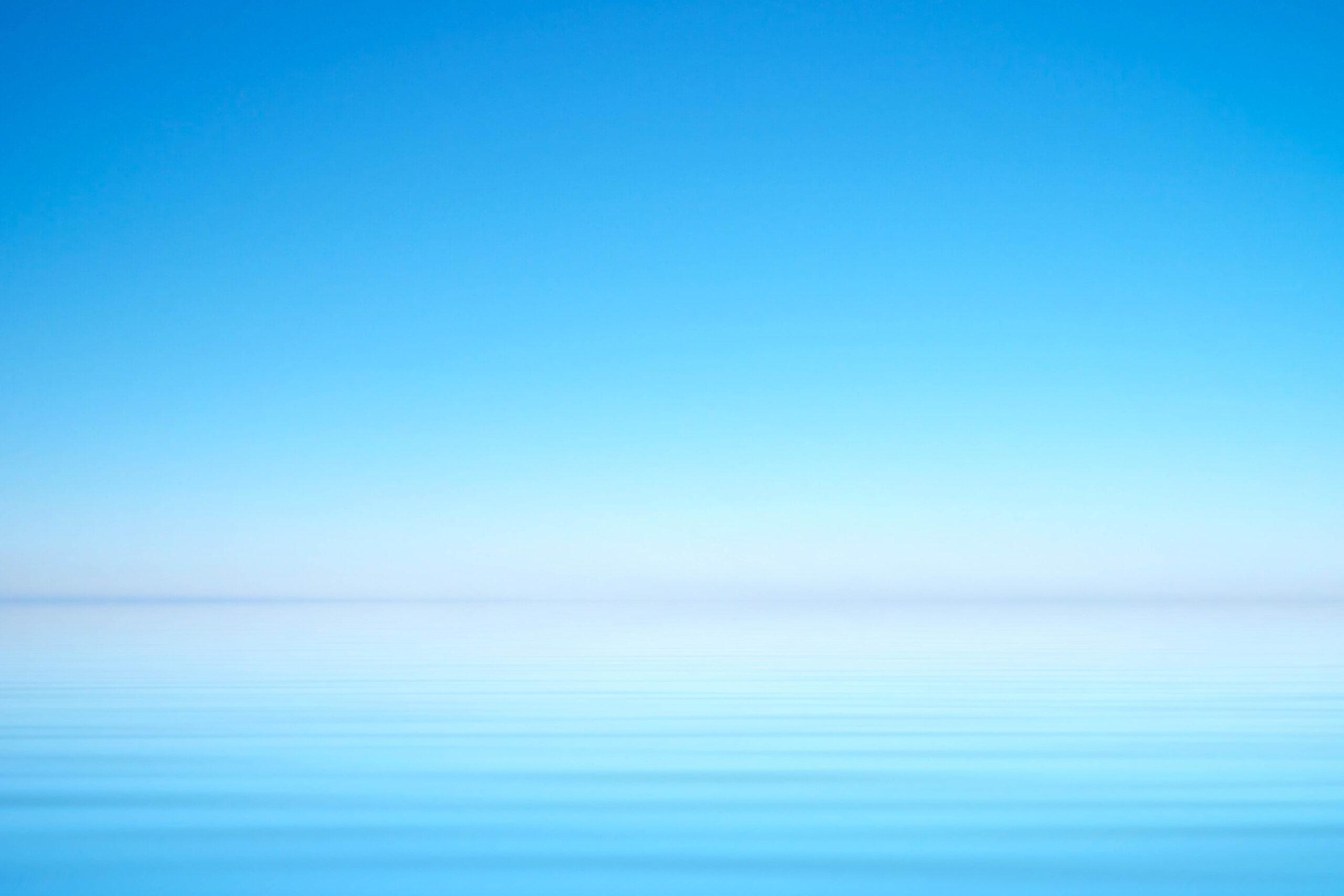 clear blue horizon