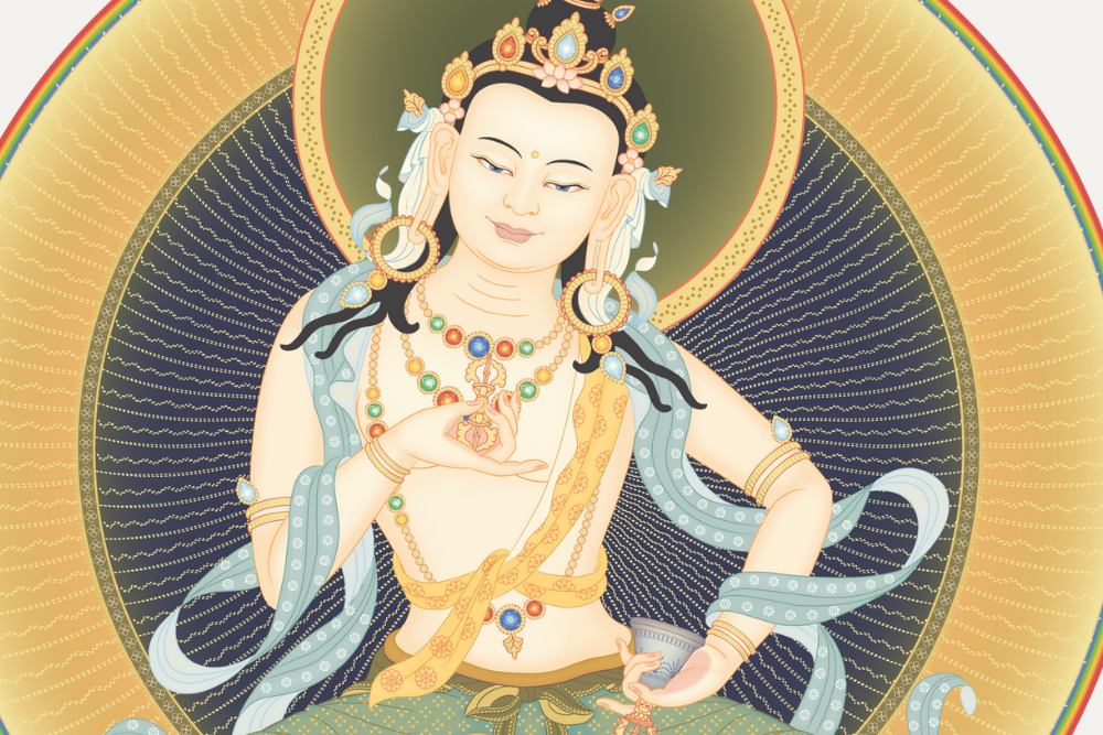 website size Vajrasattva